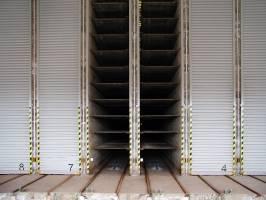 Žatec – 17 sušáren KB bloků – podlahové topení v sušárně